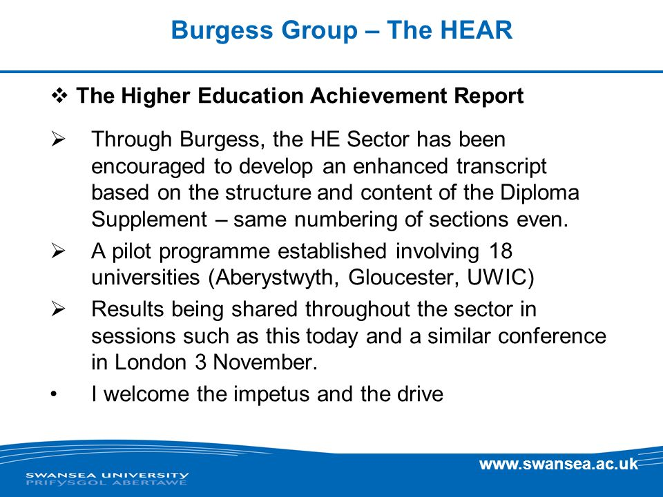 Burgess Group – The HEAR