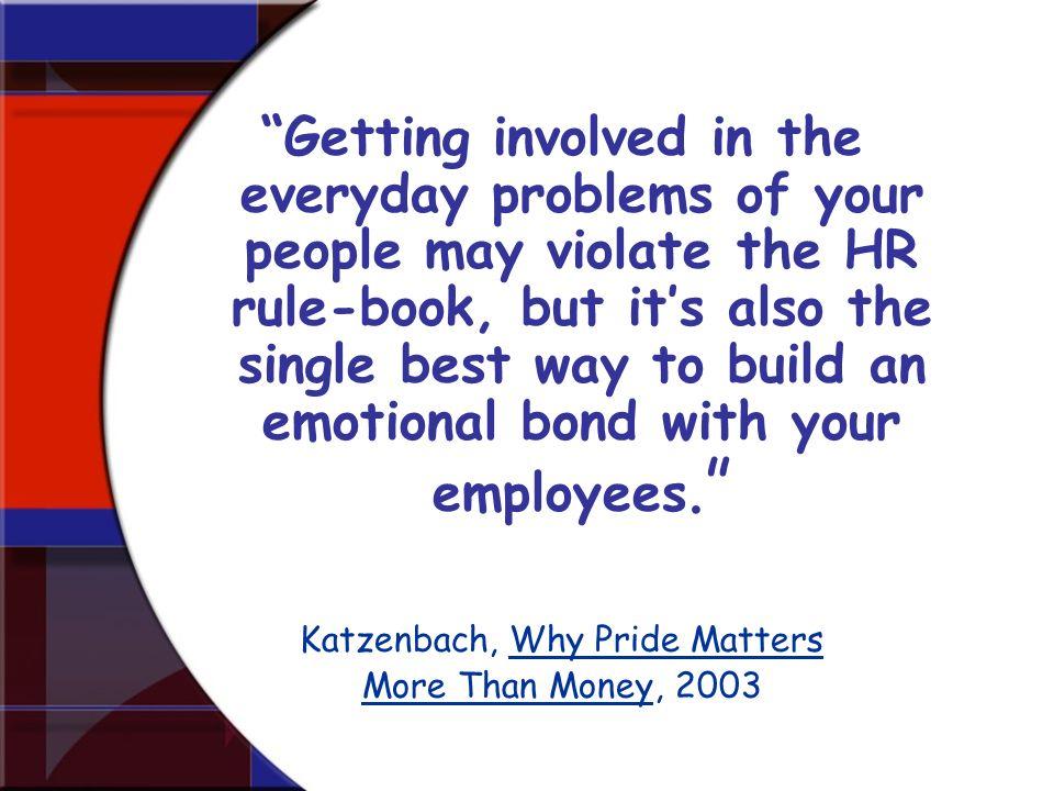 Katzenbach, Why Pride Matters