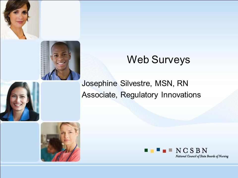 Josephine Silvestre, MSN, RN Associate, Regulatory Innovations