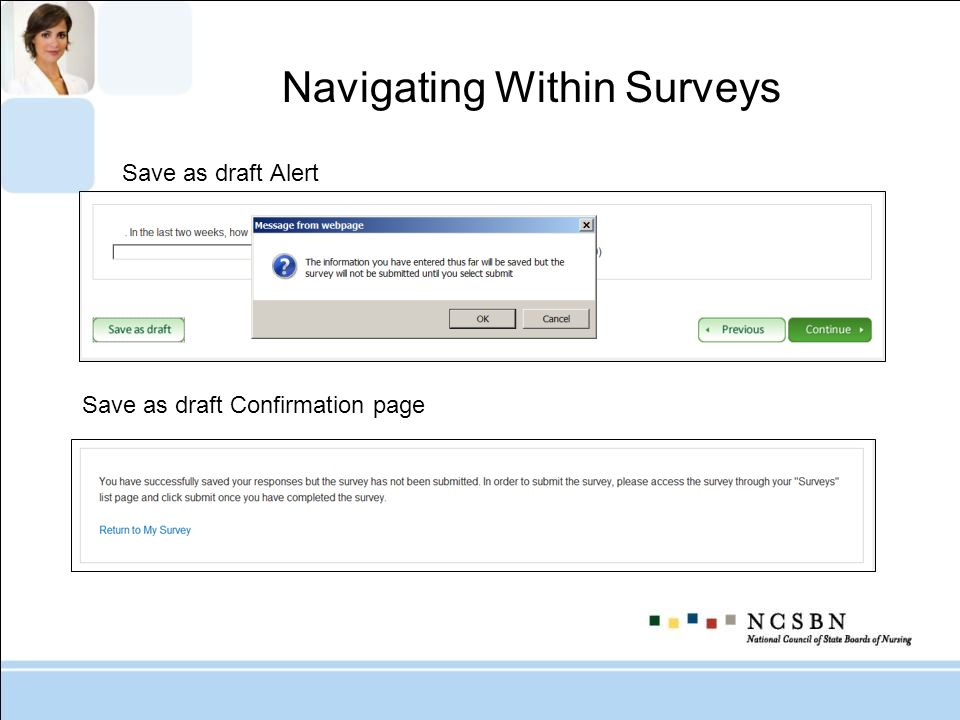 Navigating Within Surveys