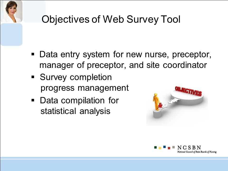 Objectives of Web Survey Tool