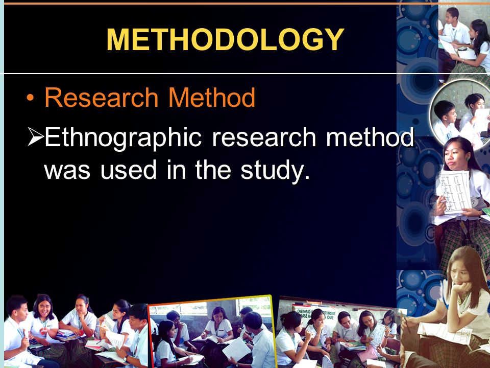 METHODOLOGY Research Method