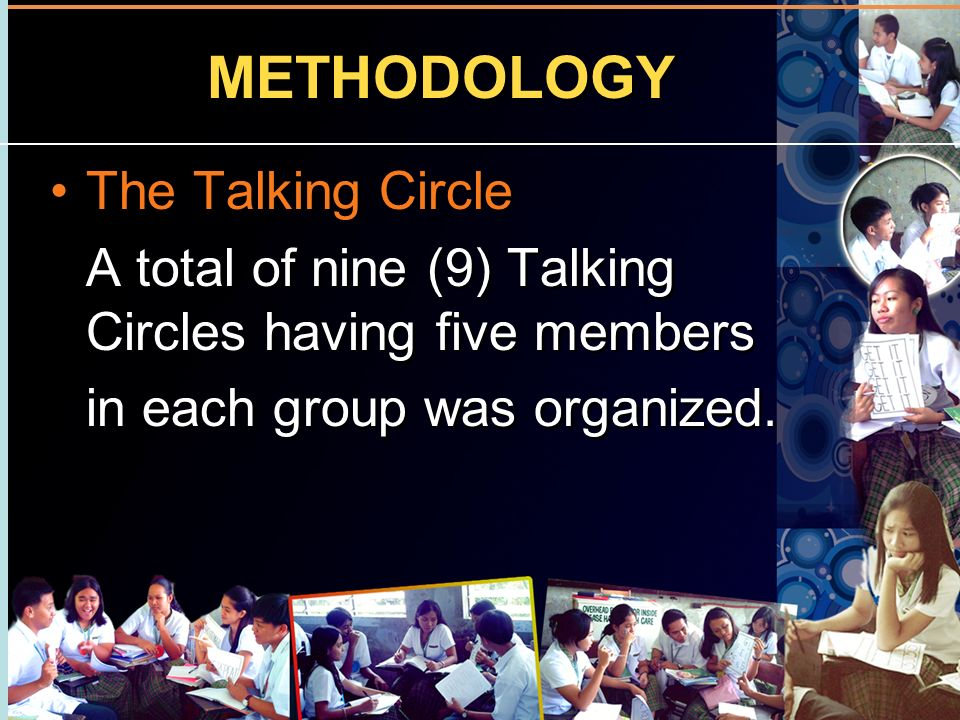 METHODOLOGY The Talking Circle