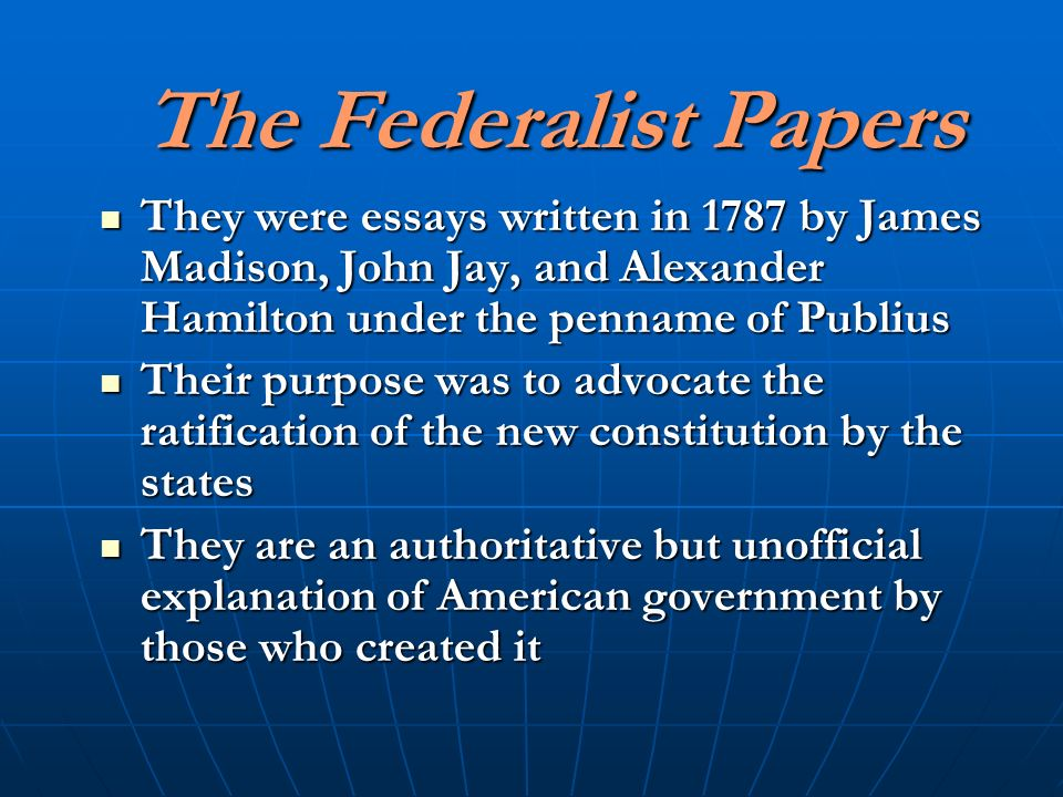 analysis of the federalist number 10 an essay by james madison James madison wrote federalist no 10  anti-federalist papers: summary & analysis 6:17  federalist no 10:.