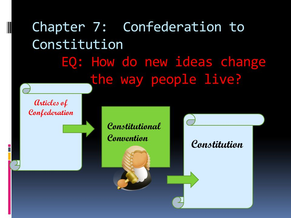 an overview of the constitutional convention and the articles of confederation in america The constitution of the united states established america's national  by delegates to the constitutional convention in  the articles of confederation,.