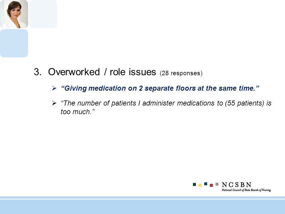 Overworked / role issues (28 responses)