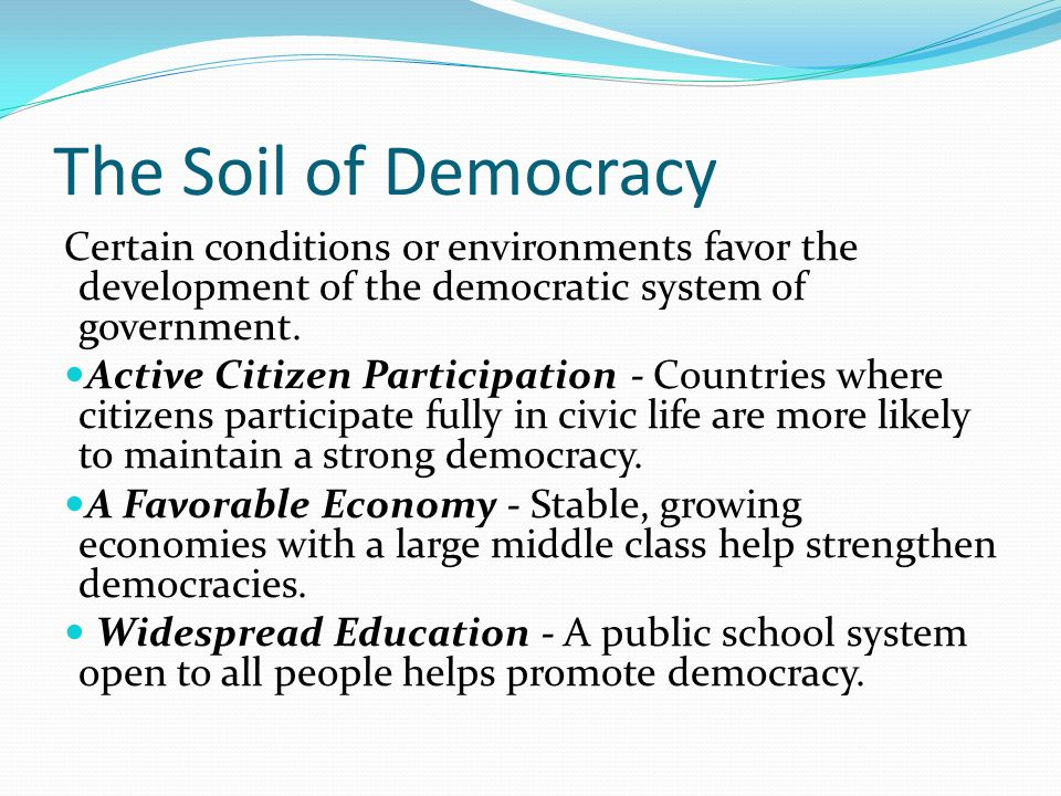 democratic government and school system of haiti Through historical background, as well as the political economy and how  haiti's  democratic transition began in 1986 after jean-claude duvalier  that, in an  interdependent global system, each individual state is vulnerable to phenomena  beyond its control  most schools are private, and an estimated 40 per cent of  the.