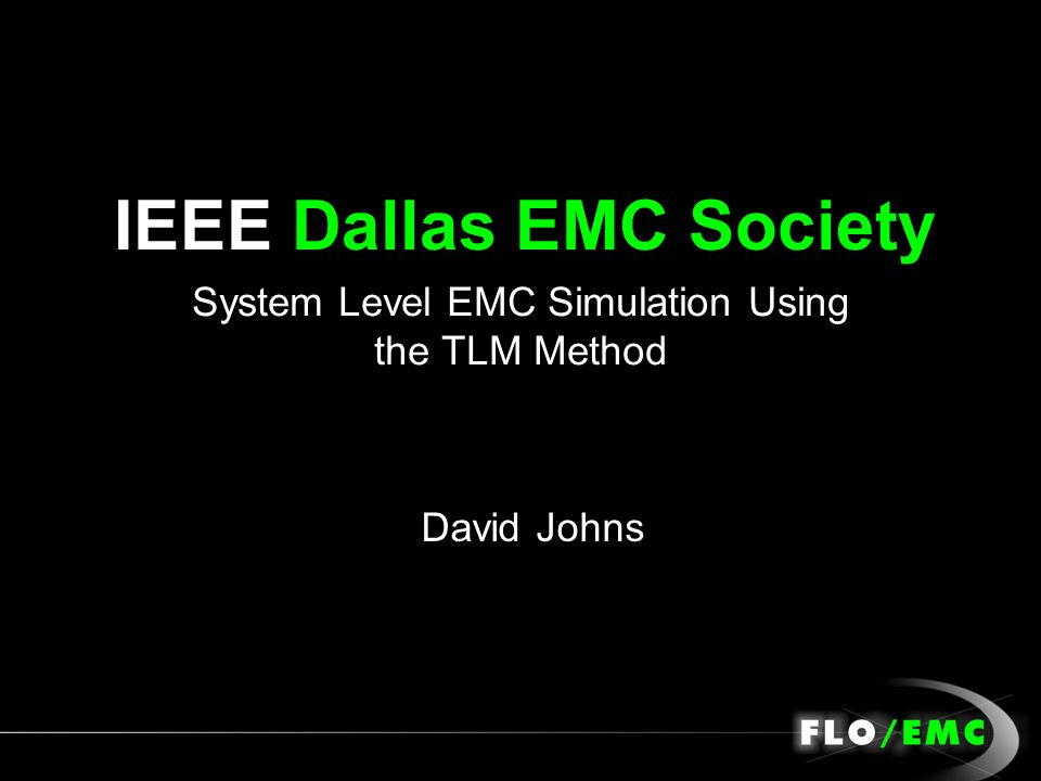IEEE Dallas EMC Society