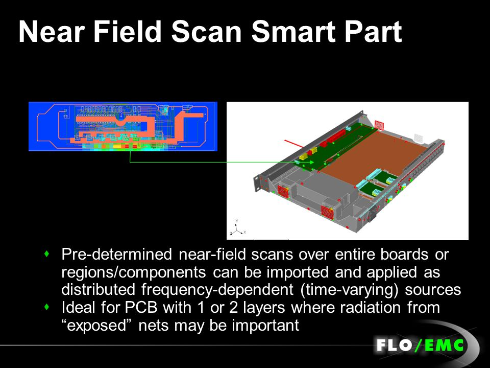 Near Field Scan Smart Part