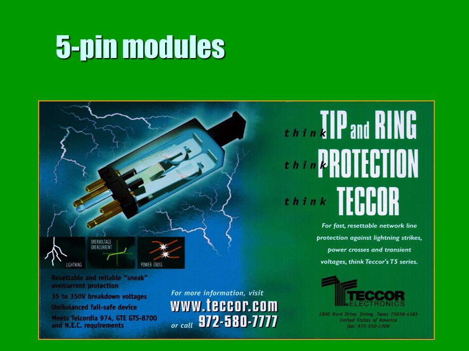 5-pin modules