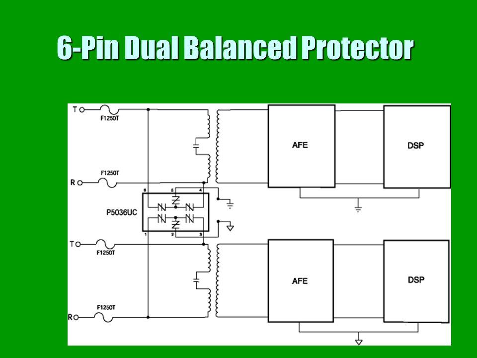 6-Pin Dual Balanced Protector