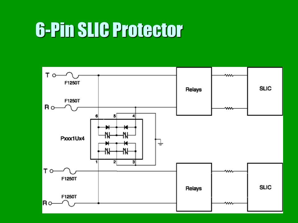 6-Pin SLIC Protector