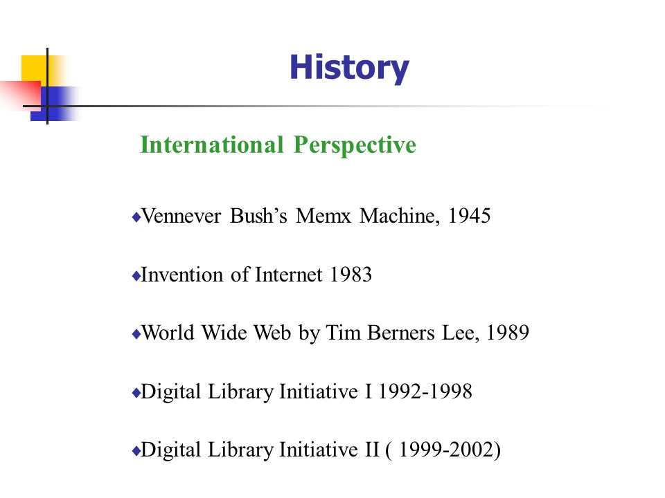 History International Perspective Vennever Bush's Memx Machine, 1945