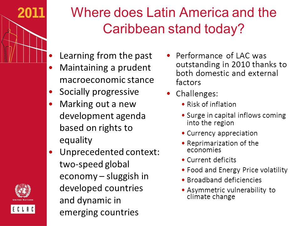 Where does Latin America and the Caribbean stand today