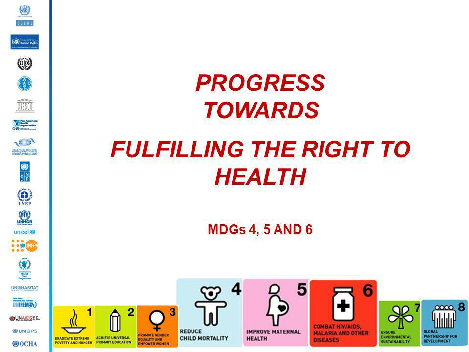 FULFILLING THE RIGHT TO HEALTH