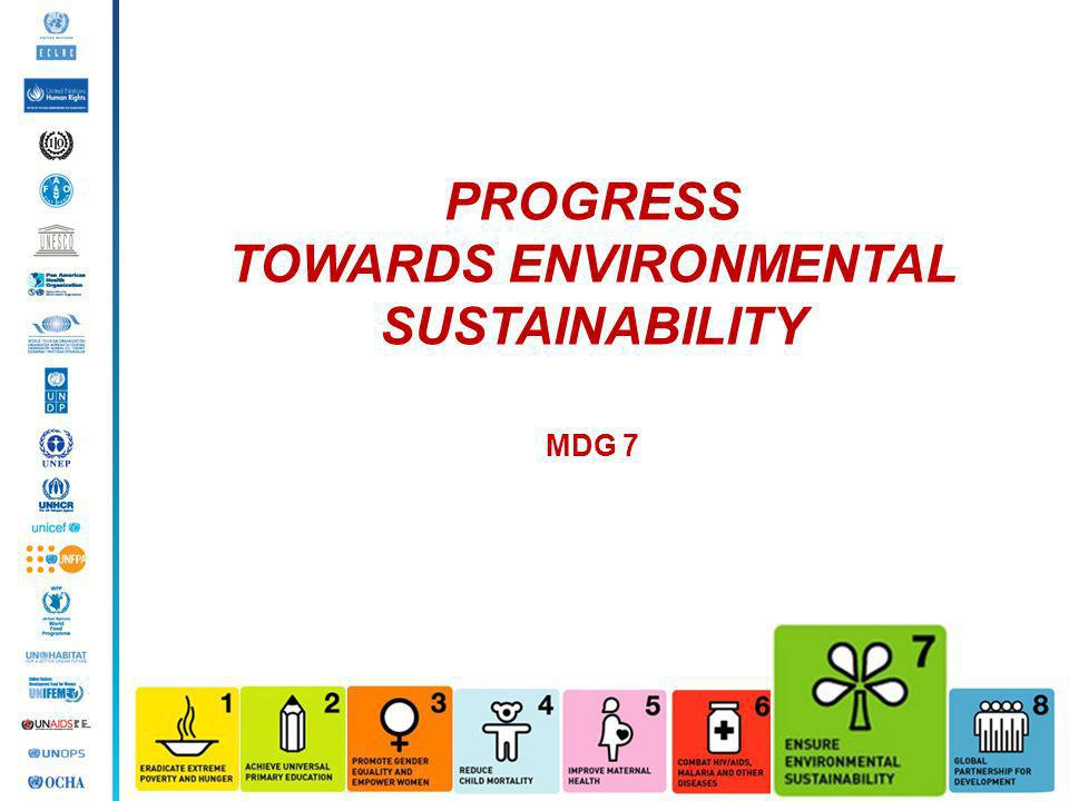TOWARDS ENVIRONMENTAL SUSTAINABILITY