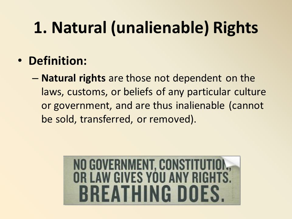 natural rights Critical thinking exercise examining government protection of the basic rights of the people suppose you are not satisfied with living in a state of nature.