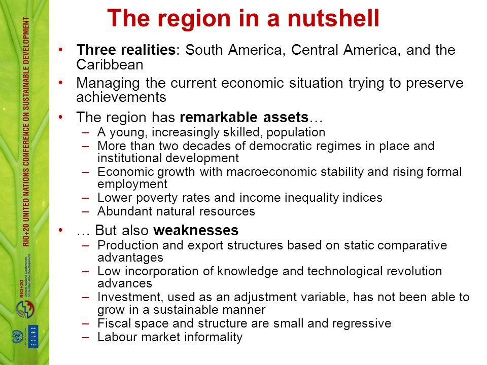 The region in a nutshell