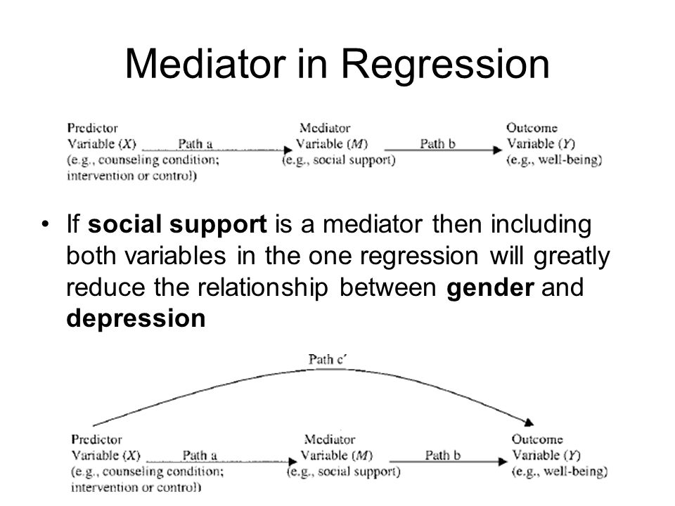 cause and effect relationship regression