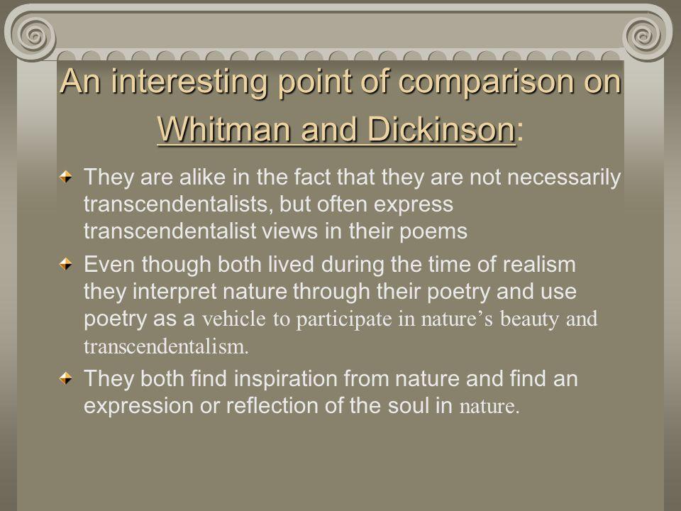 Walt Whitman Views On Human Nature