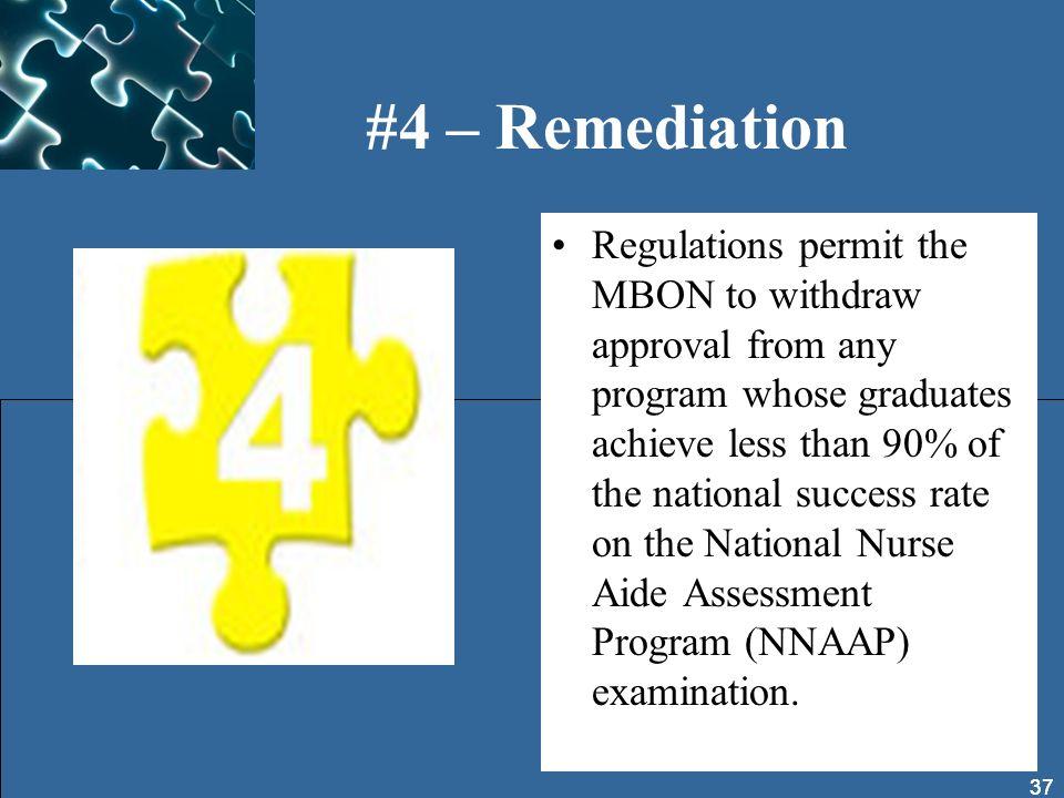 #4 – Remediation