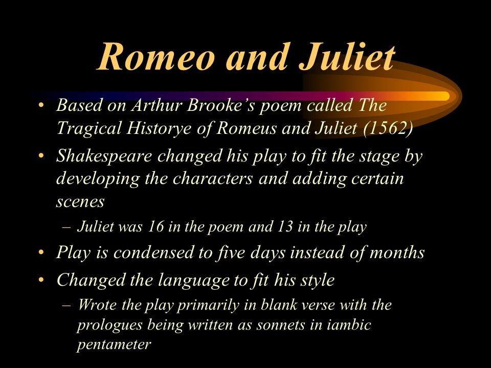 romeo and juliet s maturity level Romeo and juliet - benvolio 50 / 5 do but keep the peace which conveys he is level-headed and his maturity in act 1 scene 2 when he is comforting romeo he.