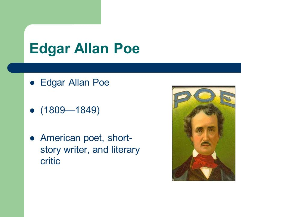 a brief lifes history of edgar allan poe (in the case of poe history arthur quinn, edgar allan poe rating poe biography: the good, the bad.