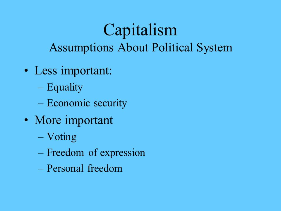 capitalism individualism and government 4 motivations: does capitalism rightly harness individual desires  socialism  over-trusts government bureaucrats milton friedman:.