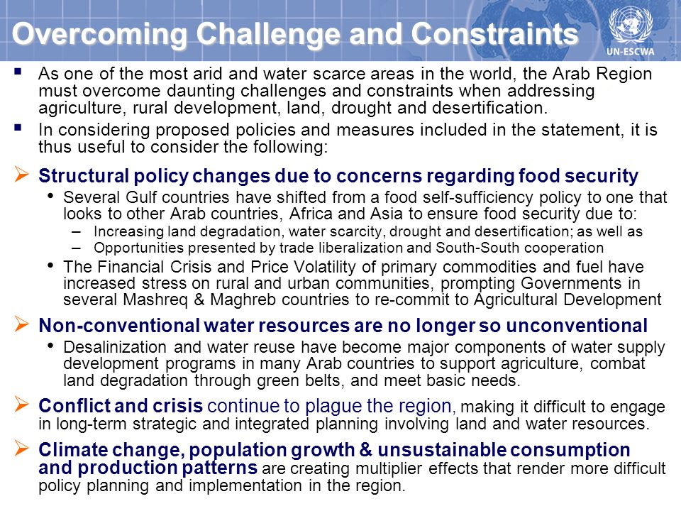 Overcoming Challenge and Constraints