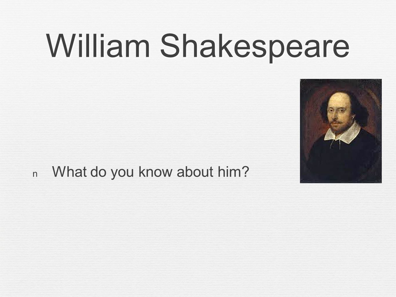 an overview and the purpose of the soliloquy in hamlet a play by william shakespeare Hamlet by william shakespeare - hamlet by william shakespeare act iv hamlet the life of william shakespeare - william shakespeare was one of the greatest play.