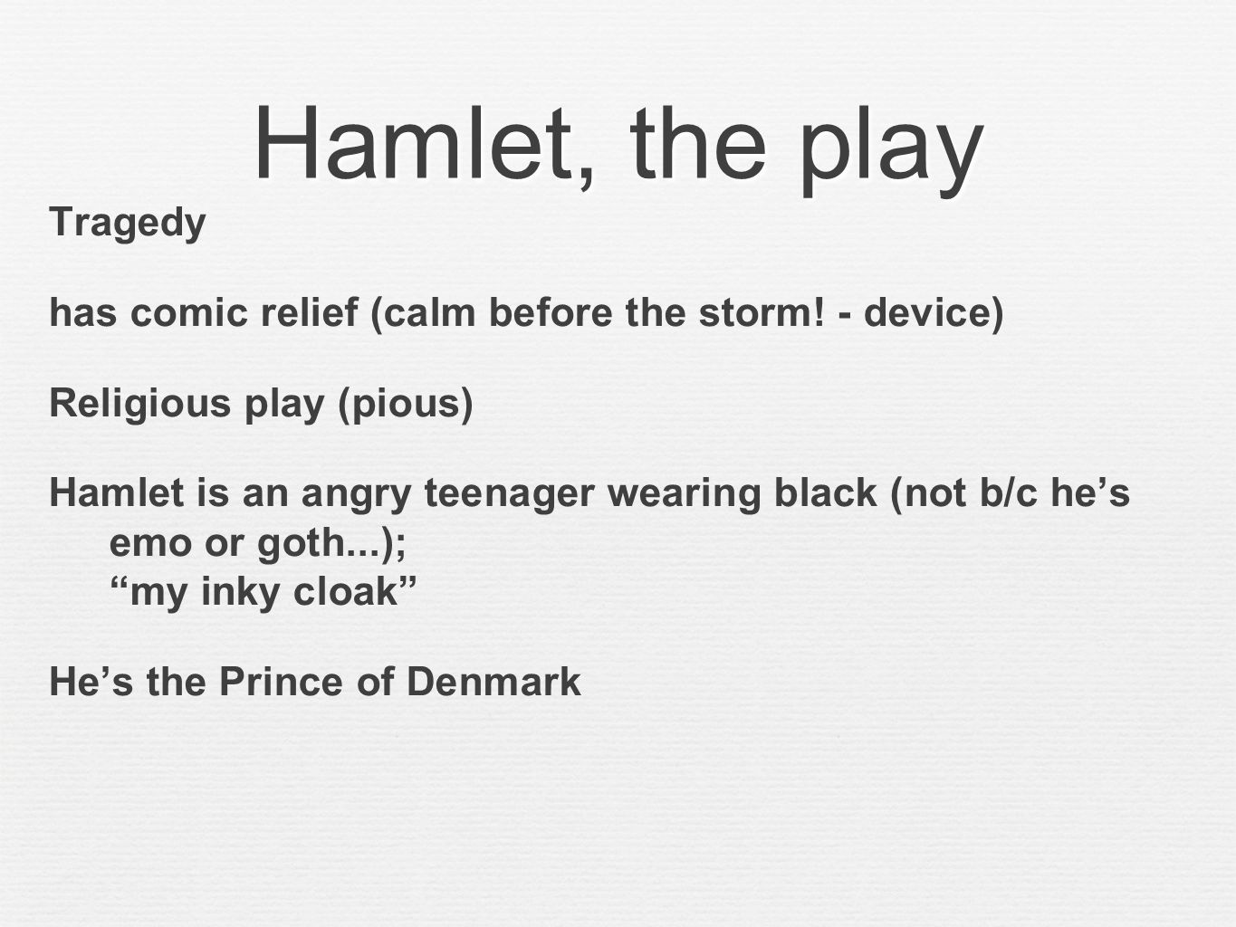 Intro to hamlet prepared by m teref ppt video online download 20 hamlet biocorpaavc