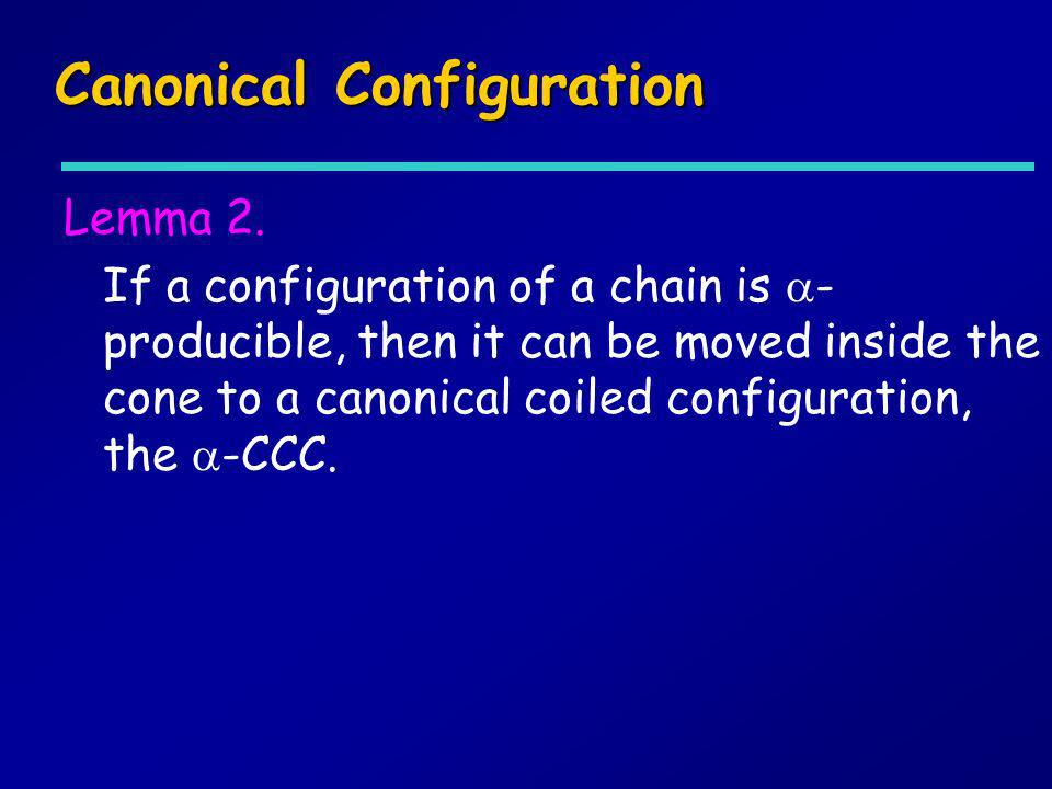 Canonical Configuration