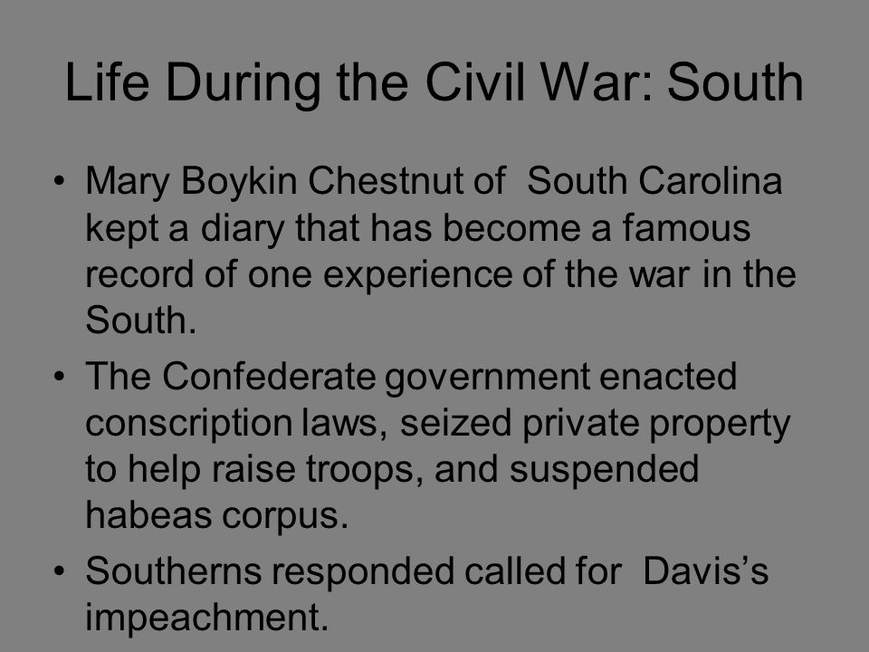 What was life like in the south before the civil war