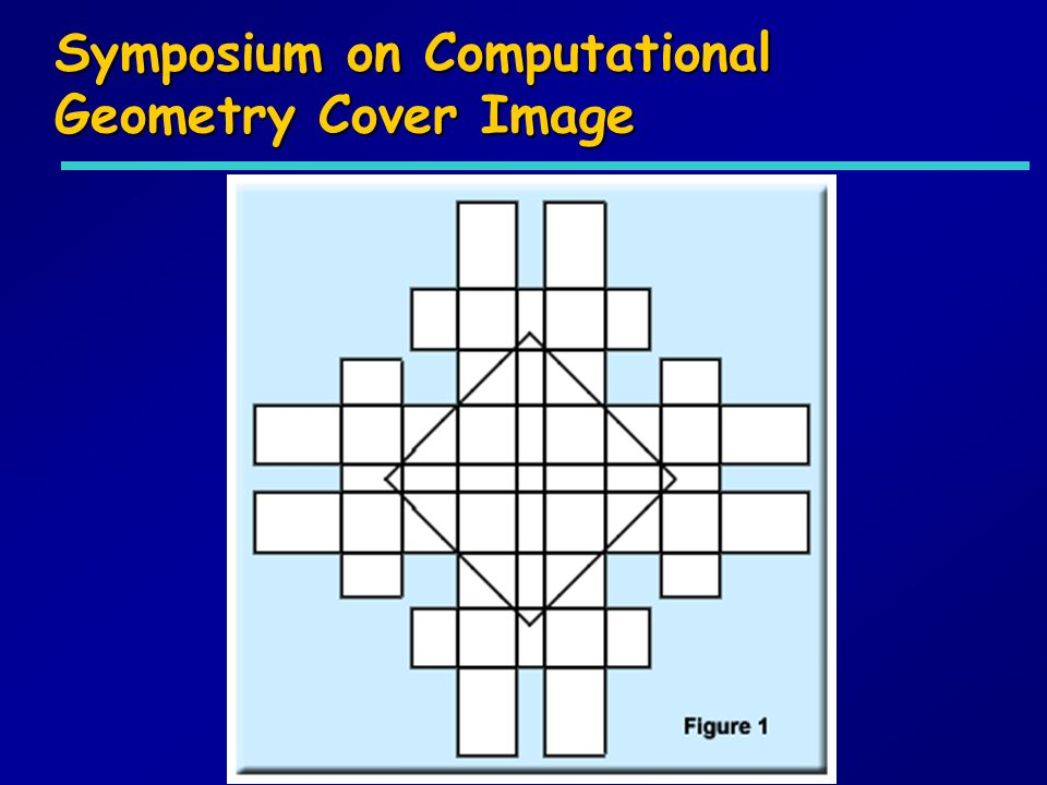 Symposium on Computational Geometry Cover Image