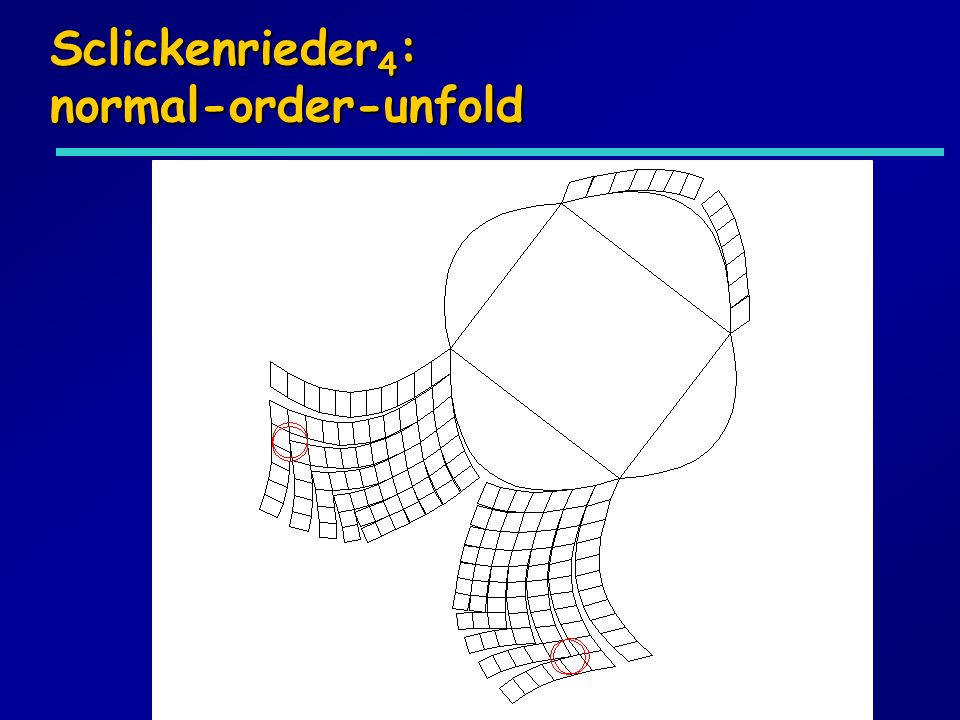 Sclickenrieder4: normal-order-unfold