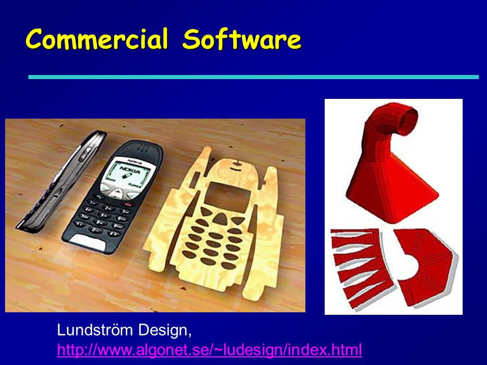 Commercial Software Lundström Design,