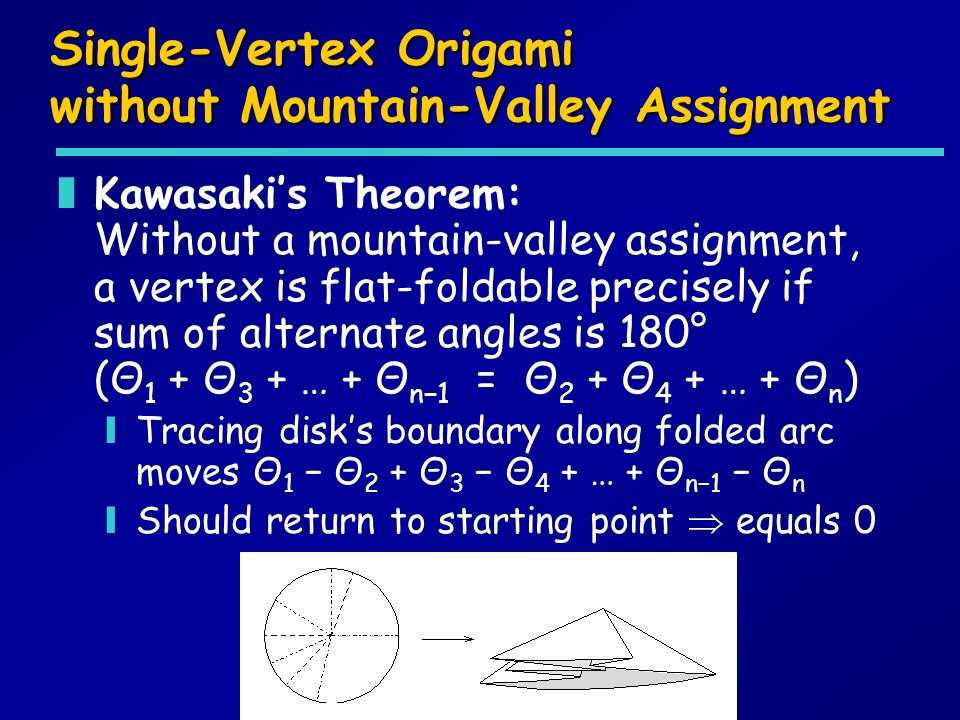 Single-Vertex Origami without Mountain-Valley Assignment
