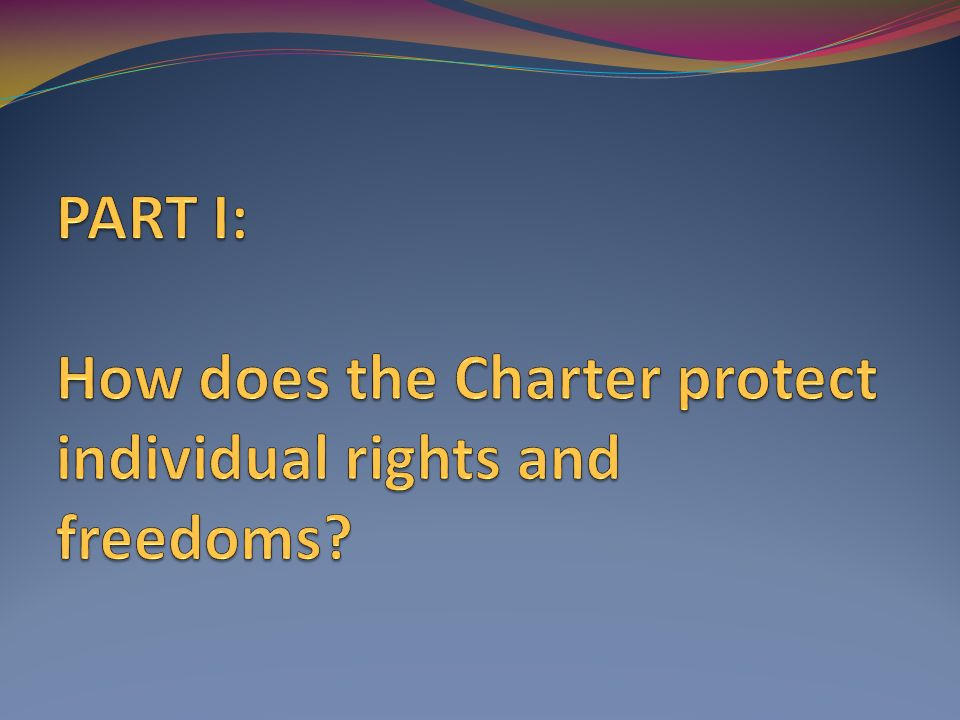 individual rights and freedoms Charter of fundamental rights and freedoms and for connected matters  whereas a constitutional commission established by parliament  recommended.