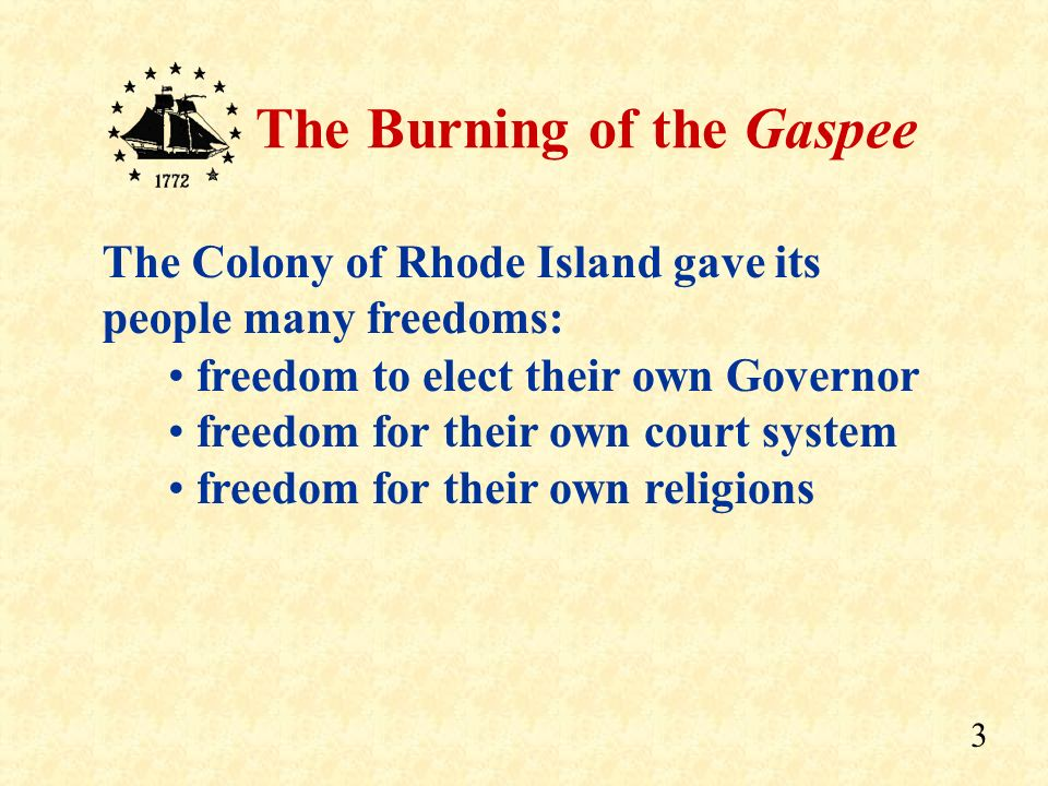 The Colony of Rhode Island gave its people many freedoms: