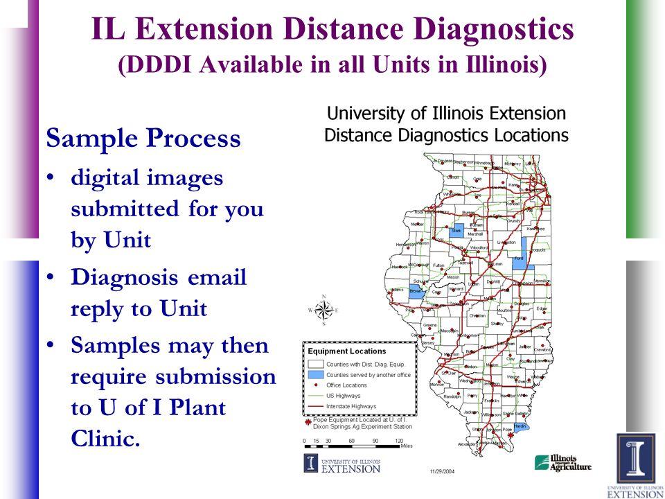 IL Extension Distance Diagnostics (DDDI Available in all Units in Illinois)