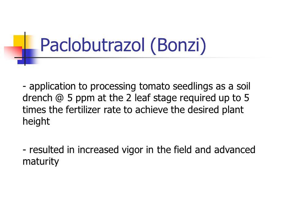 Paclobutrazol (Bonzi)