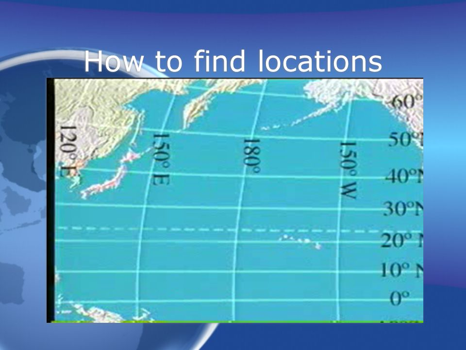 How to find locations