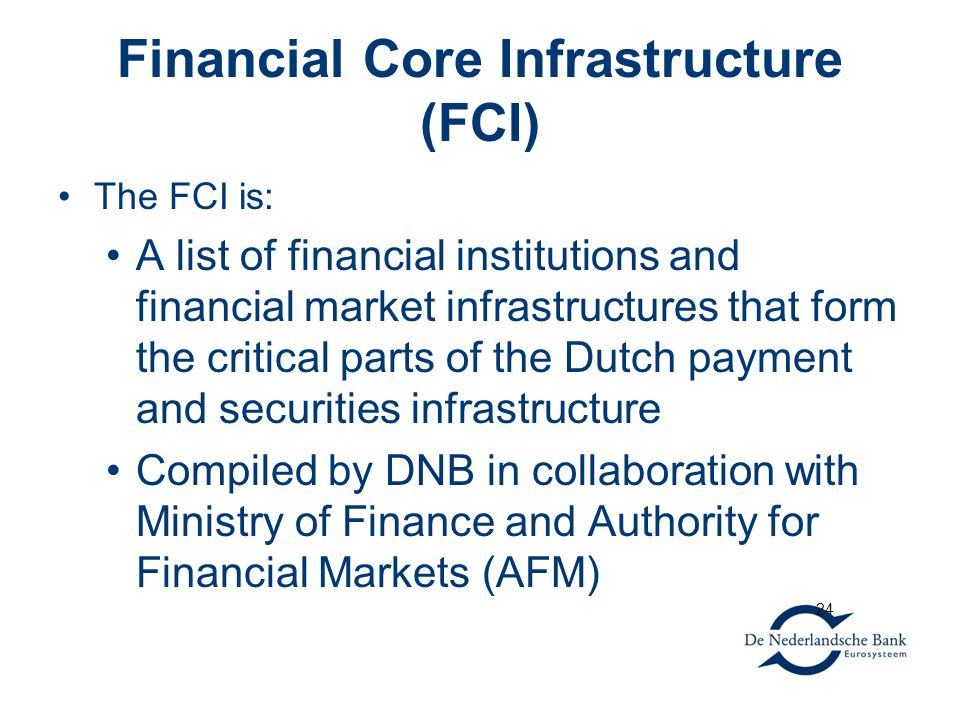 Financial Core Infrastructure (FCI)