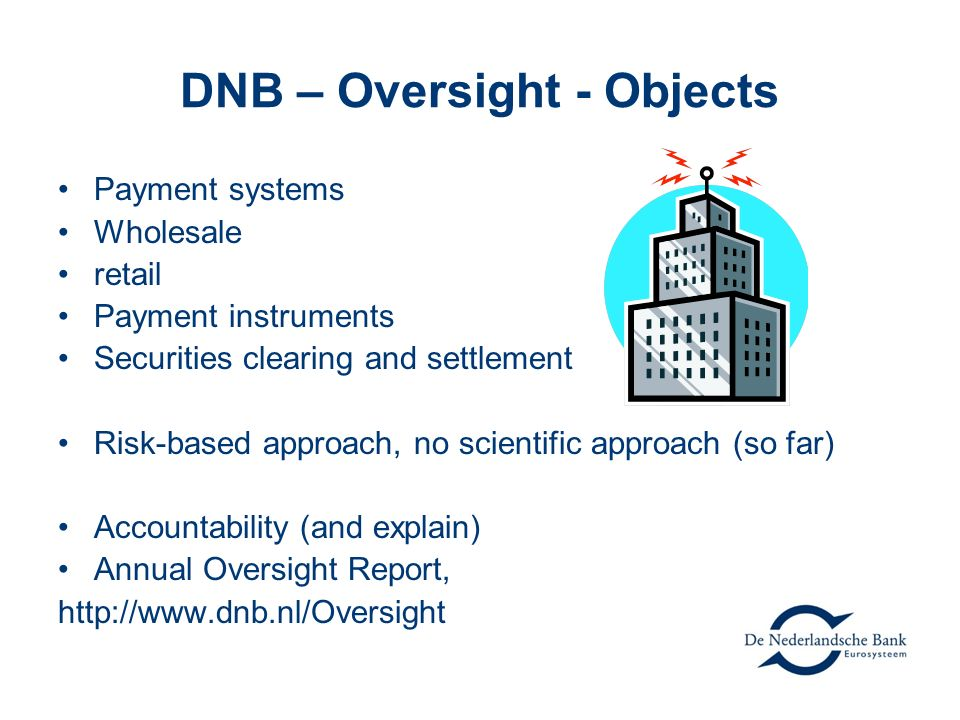 DNB – Oversight - Objects