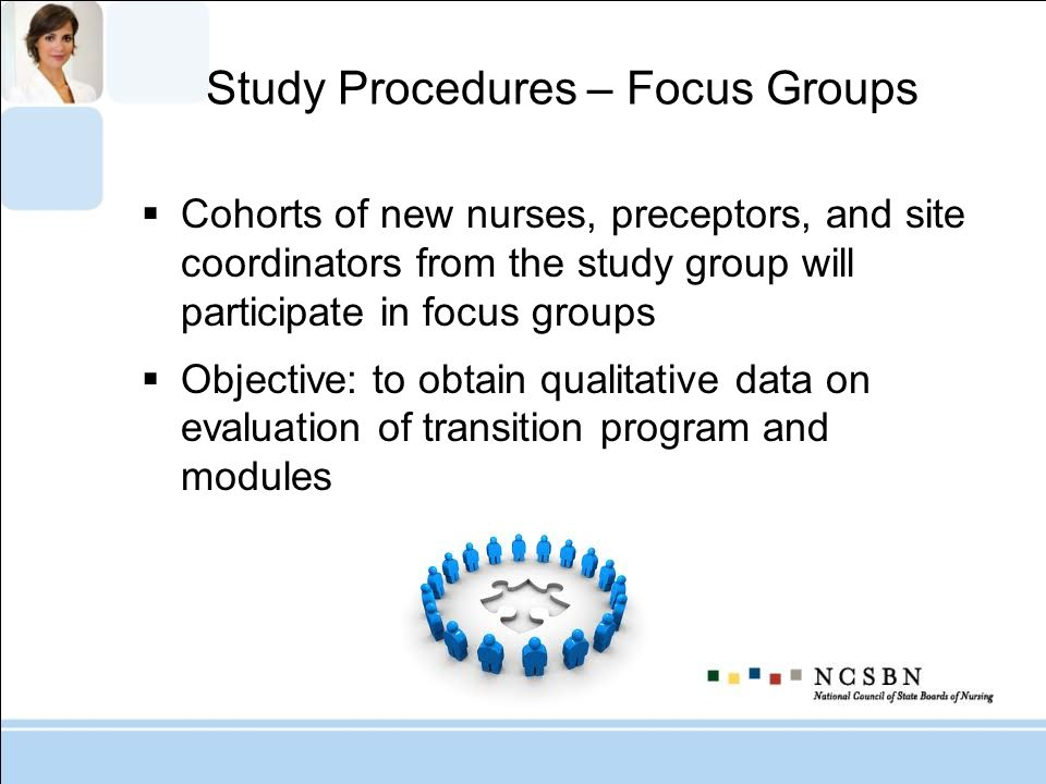 Study Procedures – Focus Groups