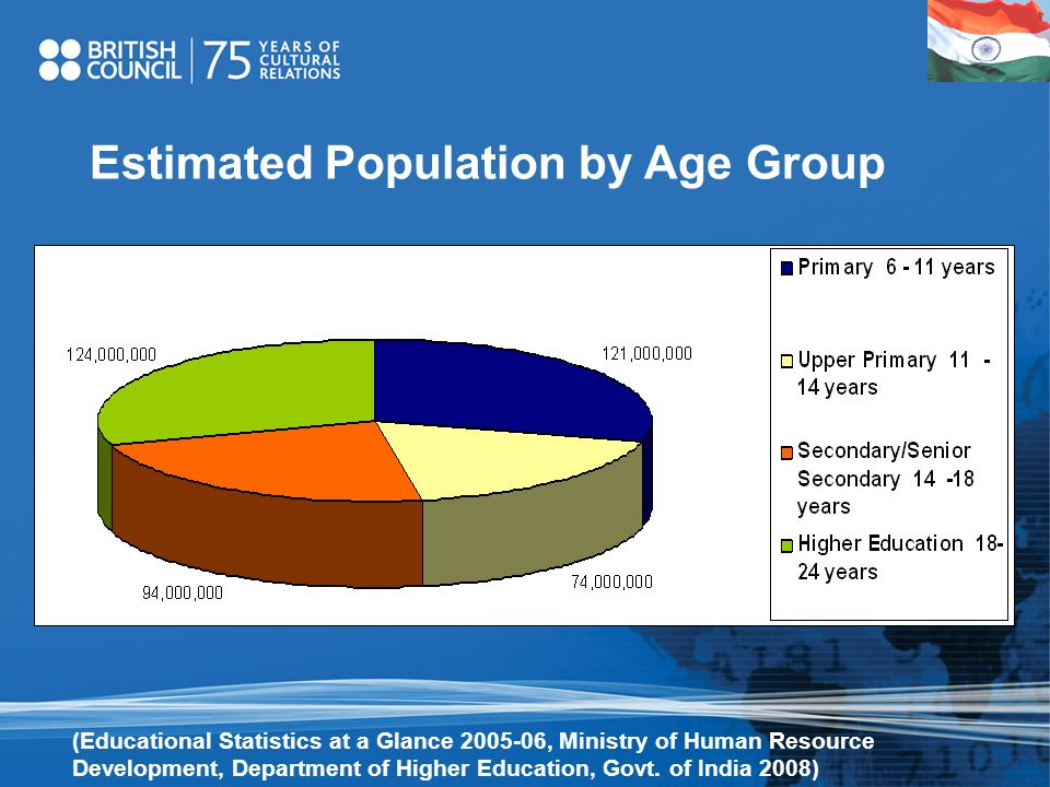 Estimated Population by Age Group