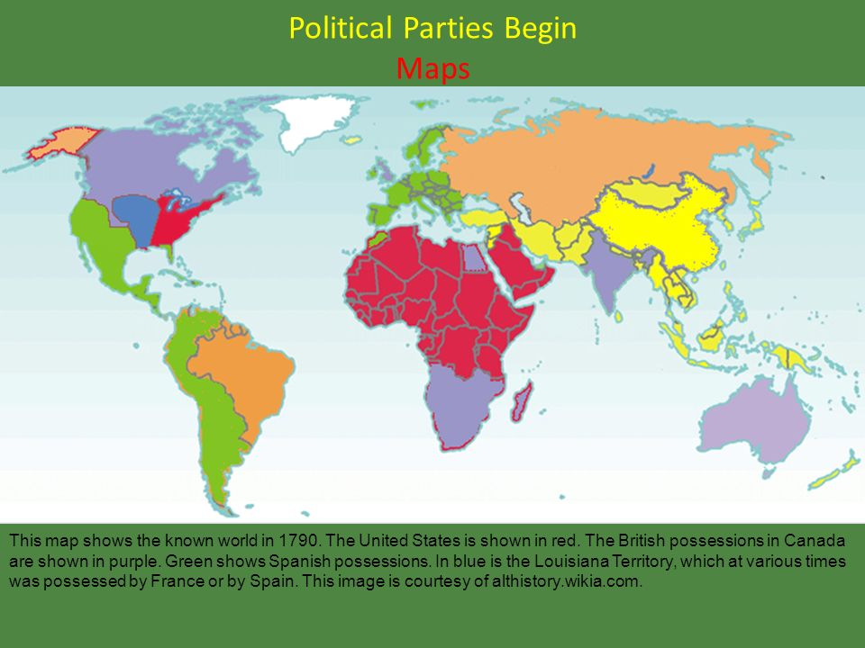 LEQ What Were The First Two Political Parties In The United - Political party map us red blue purple