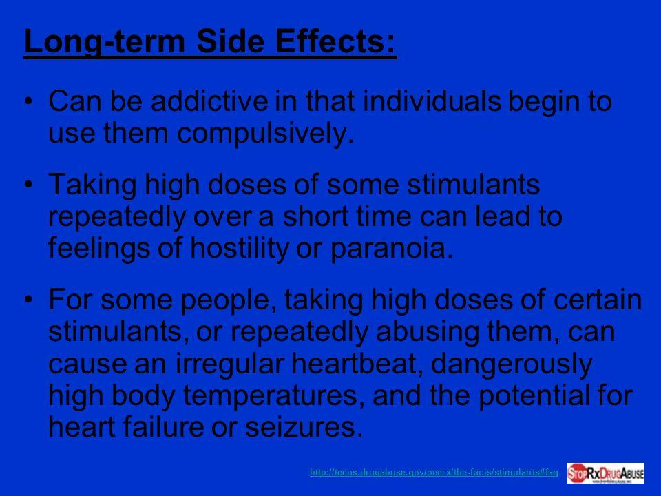 Long-term Side Effects: