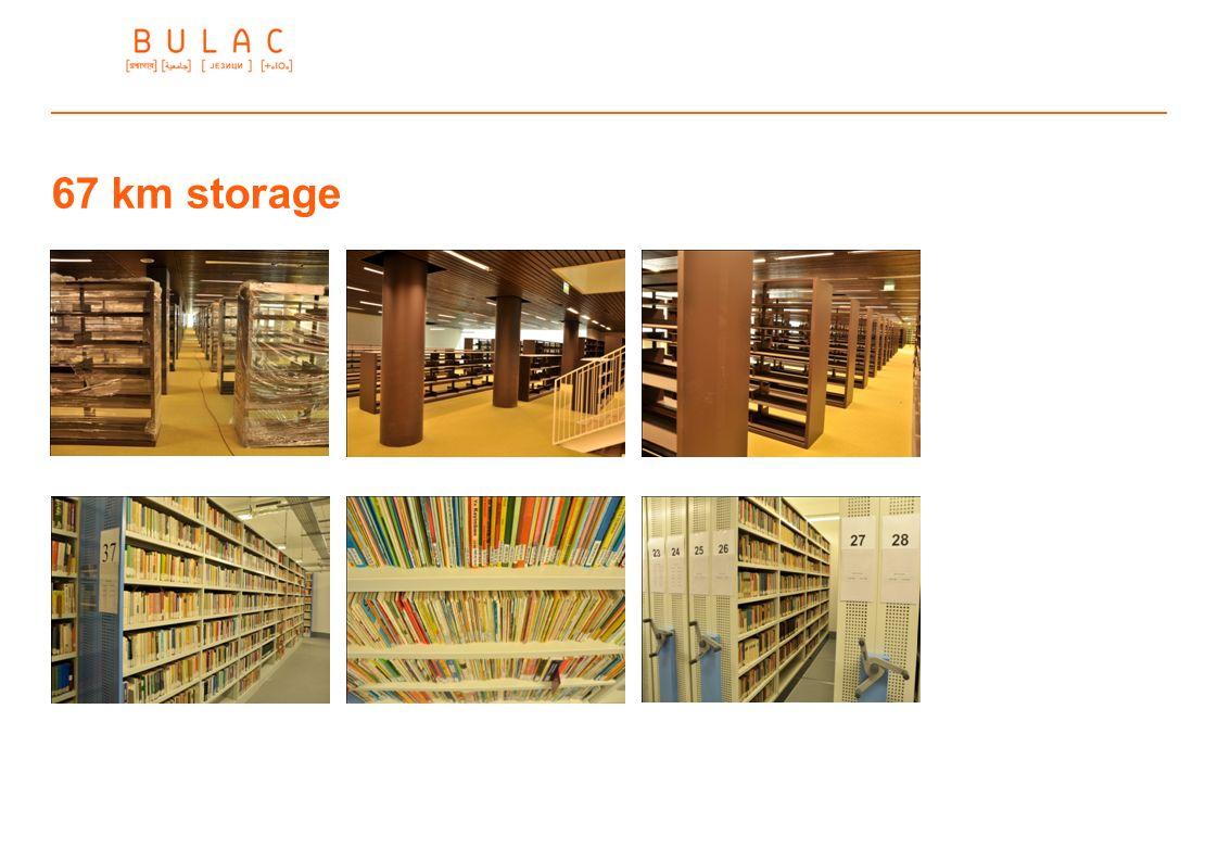 67 km storage