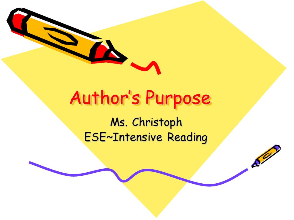 Ms. Christoph ESE~Intensive Reading